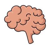 brain storm isolated icon - 218889553