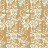 Floral background. Seamless vector pattern - 218909962