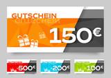 Gutscheine / Gutschein - 100, 150, 200, 500 euros - 218915199