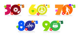 Music of fifties, sixties, seventies eighties and nineties - 218923377