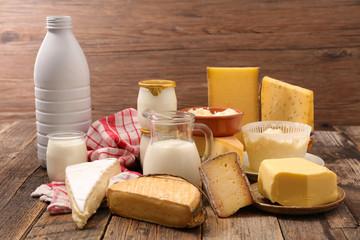 assorted dairy product © M.studio