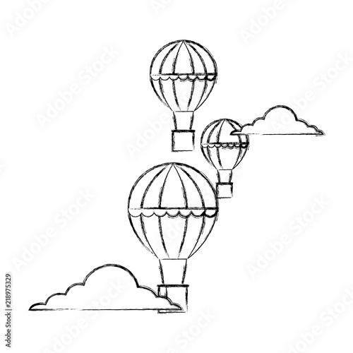 Hot Air Balloons Adventure Travel Recreation
