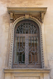 Italy, Lecce, ancient buildings and streets of the old town, views and details, doors, windows and various architectures.