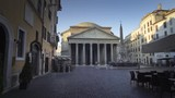 Pantheon in early morning, Rome, Italy - 219022587