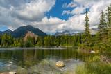 lake in mountains - 219092587