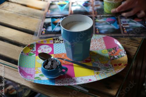 hot chocolate drops - hot milk © Juergen