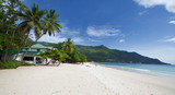 Plage de Beau Vallon, Seychelles. © Prod. Numérik