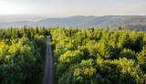Fototapeta Fototapety na ścianę - Traumhafte Aussicht auf Schwarzwald vom Hohlohturm Kaltenbronn © xx85xx