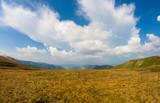 Vista grandangolare del paesaggio del Passo della Croce Arcana