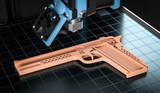 3D Waffe aus dem 3D Drucker - 219152517