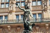 The statue of Hygieia in Hamburg - 219167390