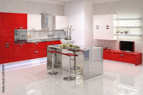 Cucina con isola centrale | Buy Photos | AP Images | DetailView