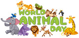 Wold animal day template - 219220118