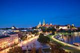 Krakow aerial castle