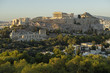 Akropolis von Athen in der Abenddämmerung, Griechenland