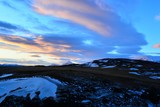 A beautiful sky in Iceland - 219263537