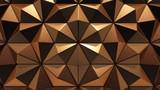 Copper background, 3D rendering