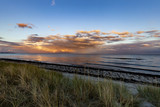 The Baltic Sea in Sweden, Beddingestrand at the evening. - 219283754