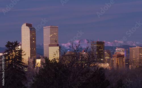 Denver Skyline First Light
