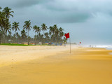 Image Of Uncrowded peaceful and colorful beaches in south Goa. India