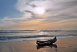 Strand mit Treibholz - 219312788