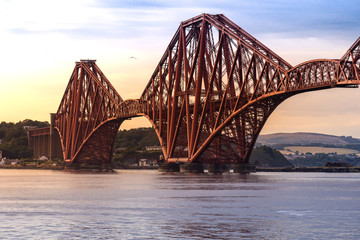 The Forth bridge Edinburgh © vichie81