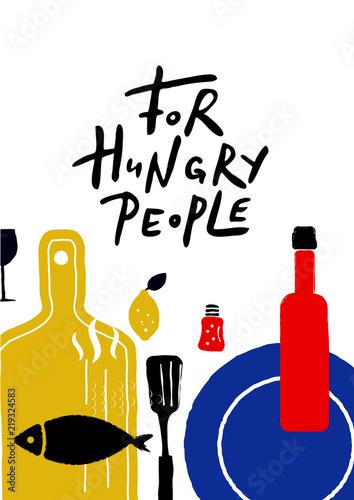 dla-glodnych-ludzi-typografia-flayer-z-ilustracja-jedzenia-idealny-do-kawiarni-restauracji-promocji-jedzenia-na-ulicy