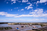 Staithes, North Yorkshire, UK.  A view of Staithes harbour. - 219324946