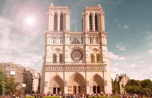 Fridge magnet Notredame de Paris