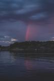 Arco iris Nocturno en Noruega