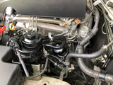 Diesel Truck engine inside