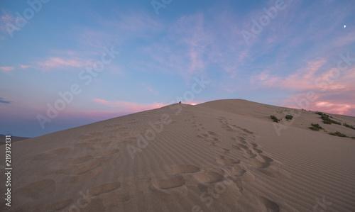 Fototapeta singing sand barchan, Kazakhstan