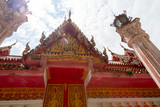 Temple in Pai, Thailand