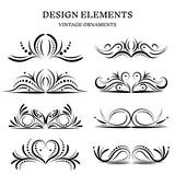 vintage design ornaments set - 219398510
