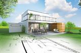 Projet de construction d'une maison individuelle d'architecte - 219411752