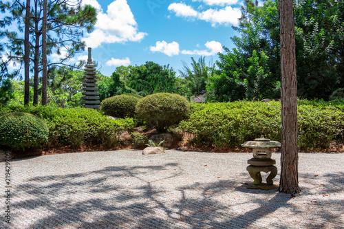 Japanese Zen Garden Delray Beach Florida Usa Buy Photos Ap