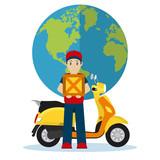 Delivery around world