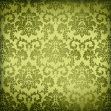 Louisiana Life New Orleans Culture Parchment Damask Wallpaper Background - 219475399