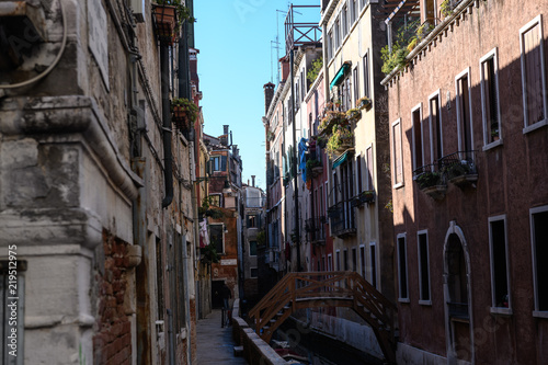 Fototapeta Straßen von Venedig X