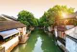 Suzhou ancient town night view - 219518168
