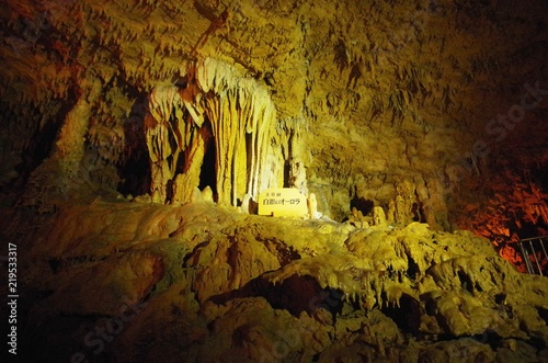 玉泉洞 白銀のオーロラ