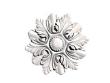 Rundes blumiges Ornament - 219540527