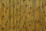 Bamboo fence or wall texture background .