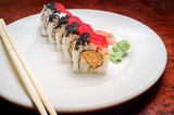Spicy Crab Sushi Roll - 219599934