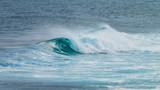 vague en rouleau sur l'océan - 219621137