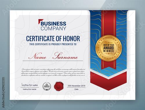 Multipurpose Professional Certificate Template Design Buy Photos
