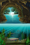 Inside the cabe underwater - 219635958