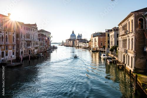 Leinwanddruck Bild Grand Canal in Venice, Italy