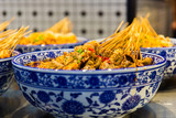 Spicy kebabs in Chongqing, China - 219652543
