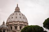 Fototapeta London - Saint Peter's dome, Vatican © PrzemysławNiedziela